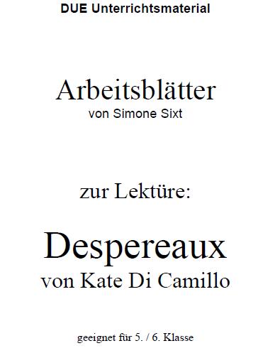 Lektüre: Despereaux