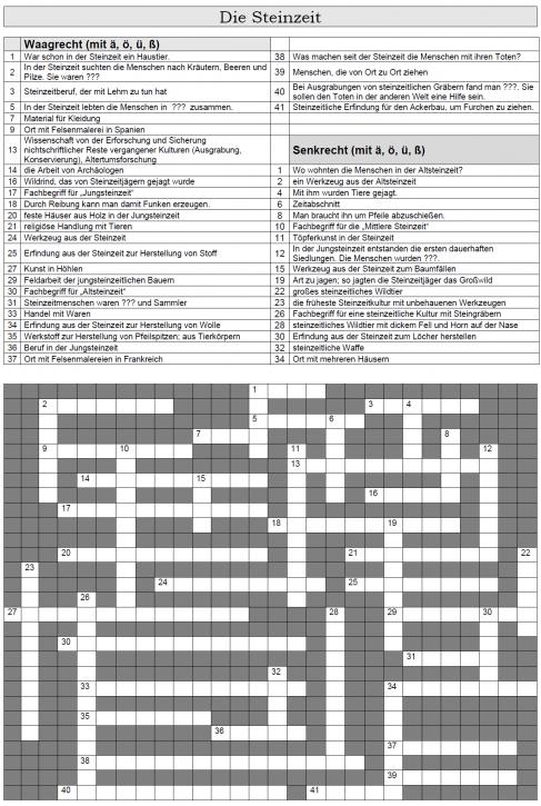Kreuzworträtsel 2