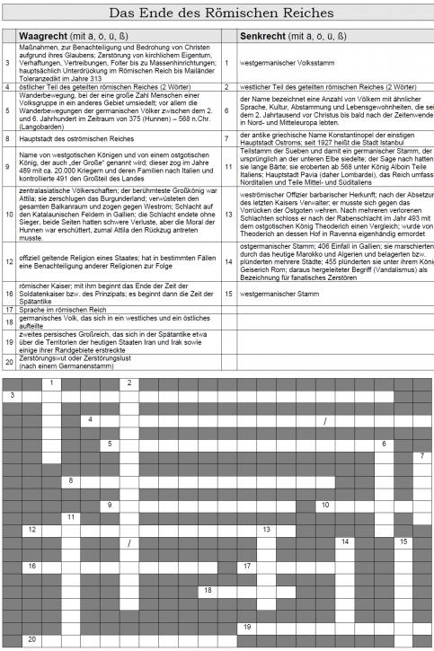 Kreuzworträtsel 13