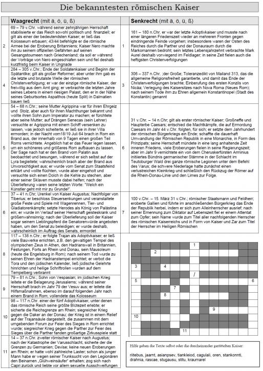 Kreuzworträtsel 14