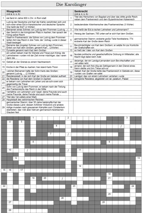 Kreuzworträtsel 16