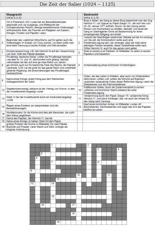 Kreuzworträtsel 18