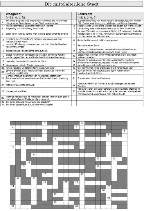 Kreuzworträtsel 21