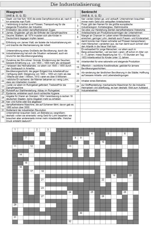 Kreuzworträtsel 33