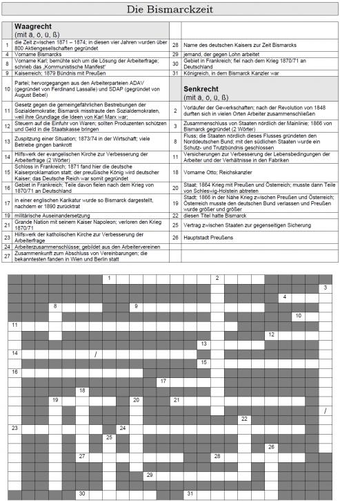 Kreuzworträtsel 34