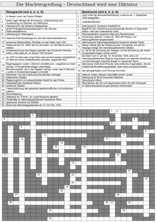 Kreuzworträtsel 40