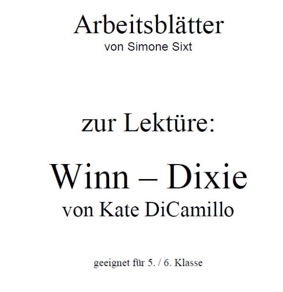 Lektüre: Winn Dixie